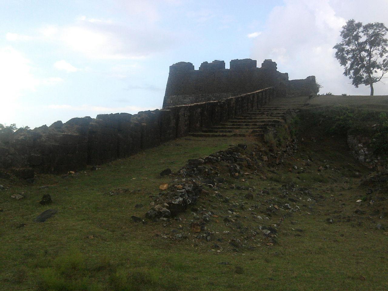 Nagara Fort In Kodachadri