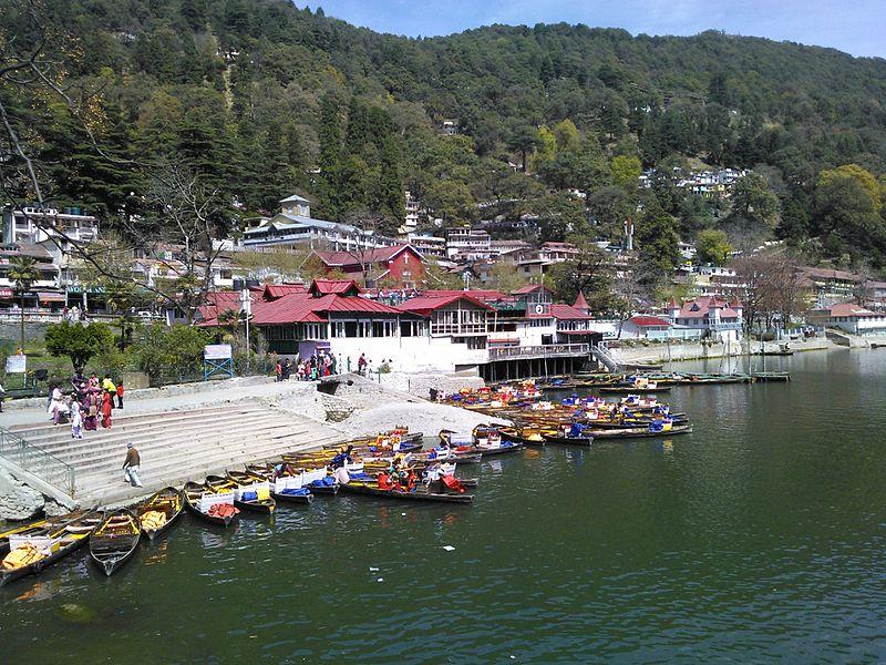 12 Best Hills Stations to Visit Around Delhi (2020)-Nainital Lake