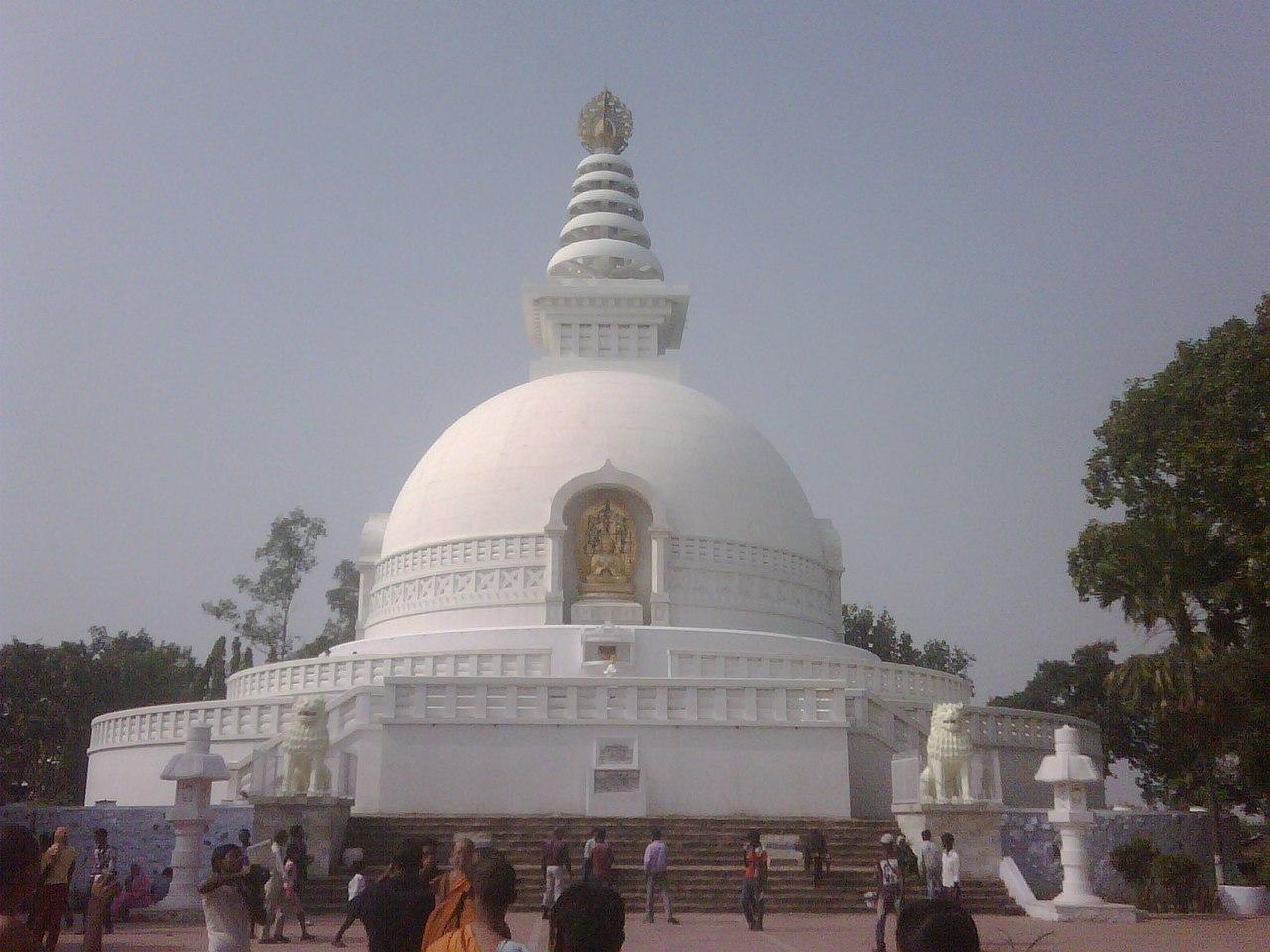 Beautiful Weekend Getaways from Asansol-Viswa Shanti Stupa, Nalanda