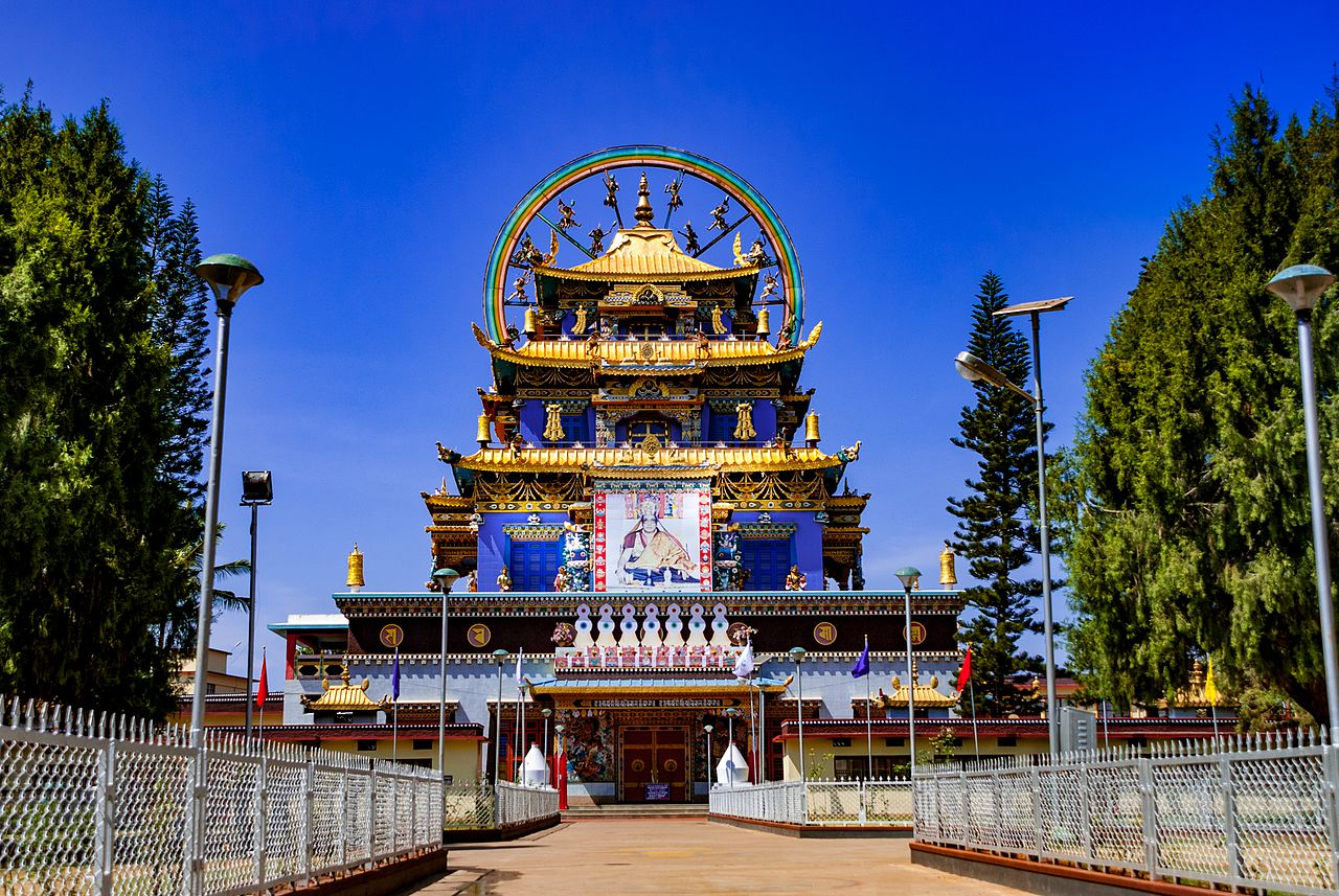 Best Attraction in Coorg-Namdroling Monastery
