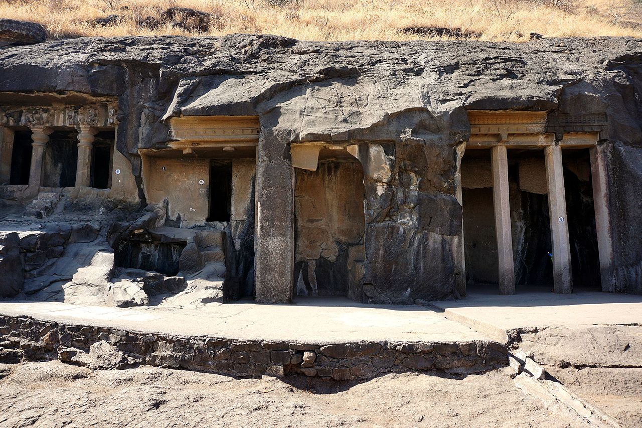 Amazing Place to Visit Near Salher Fort-Nashik Caves