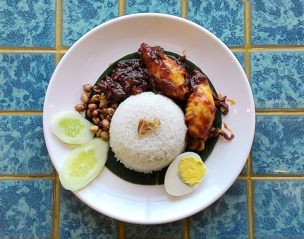 Nasi Lemak - One of Best Street Food Dish of singapore