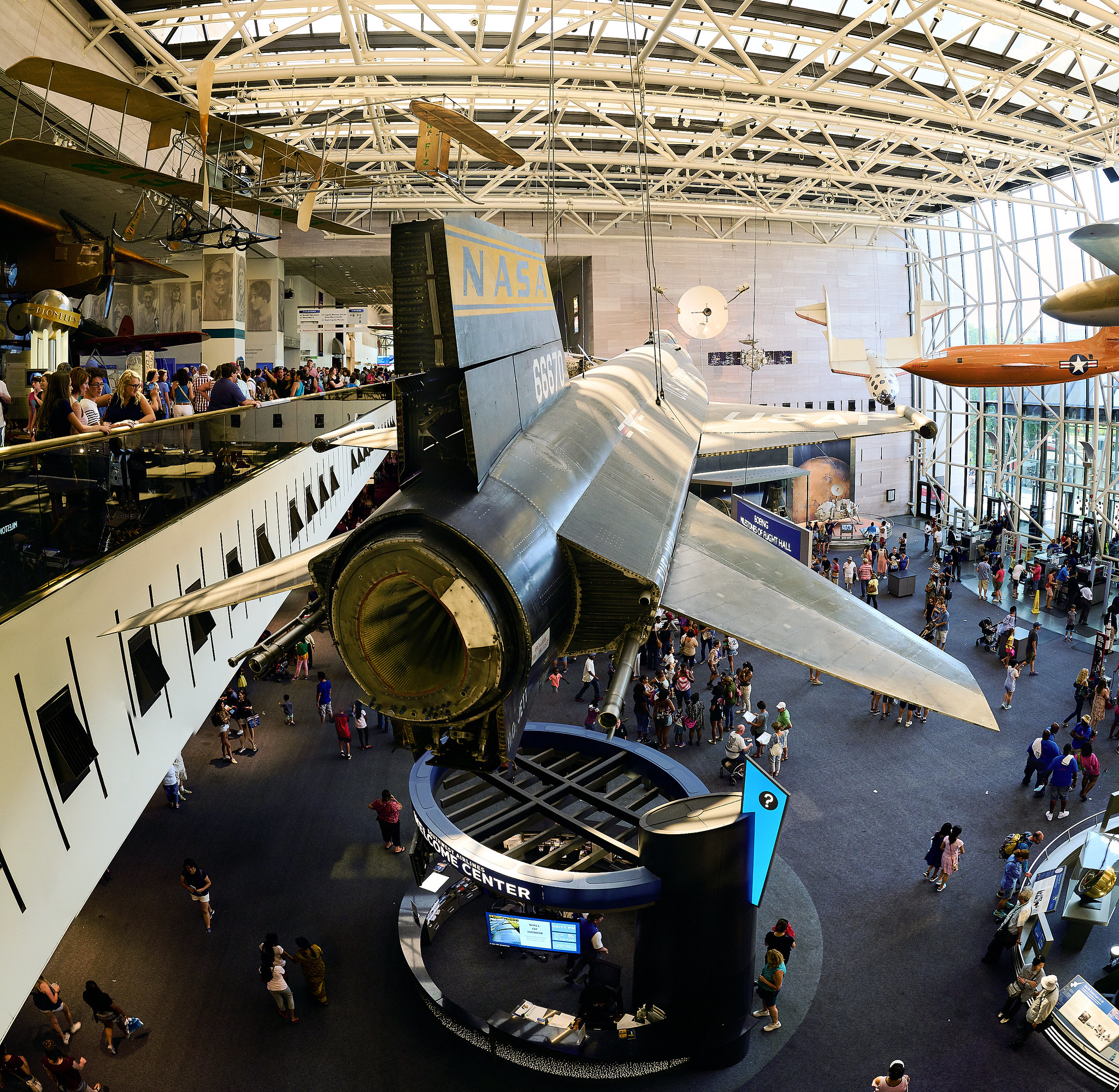 National Air and Space Museum-Must Go-To Place in Washington DC