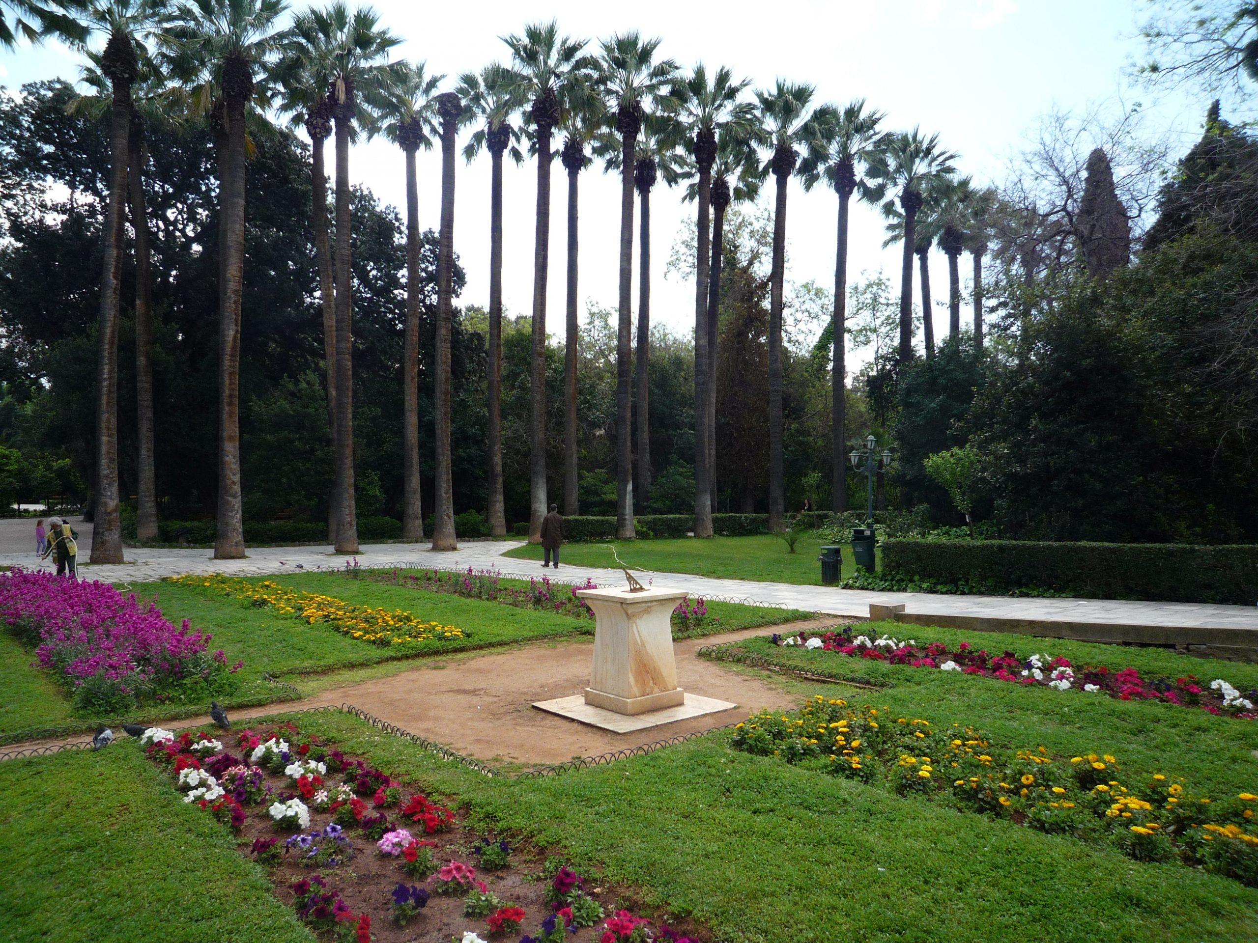National Garden in Athens, Greece