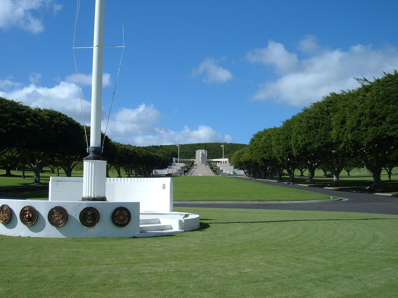 Top Tourist Place In Honolulu-National Memorial Cemetery of the Pacific