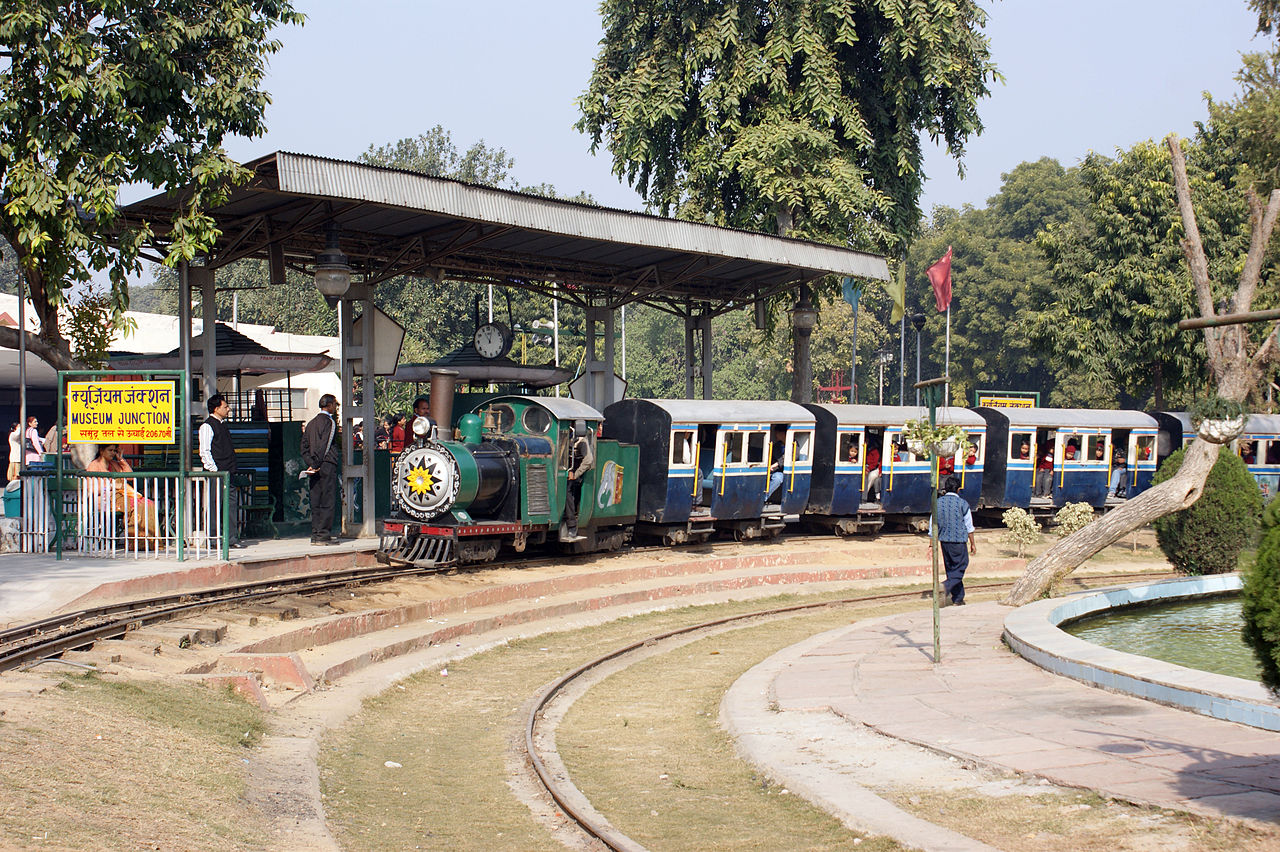 Best Museum to Visit in Delhi-National Rail Museum