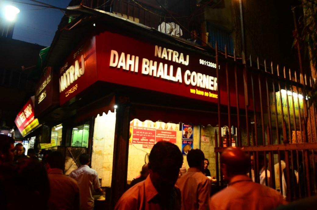 Natraj Dahi Bhalle Wala - Chandni Chowk
