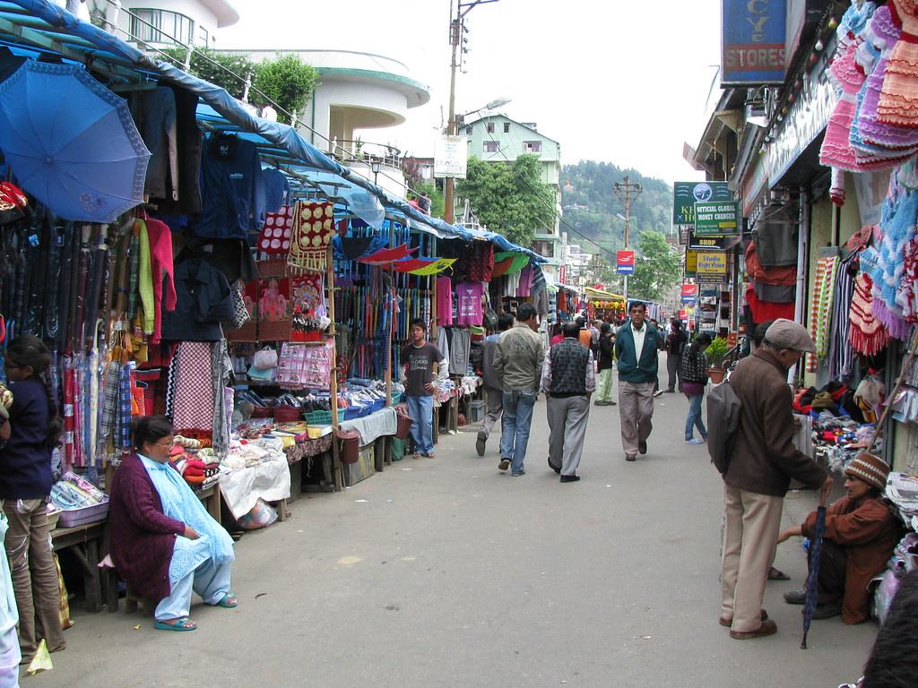 Nehru Road - Best Shopping Destination in Darjeeling to Self-Indulge