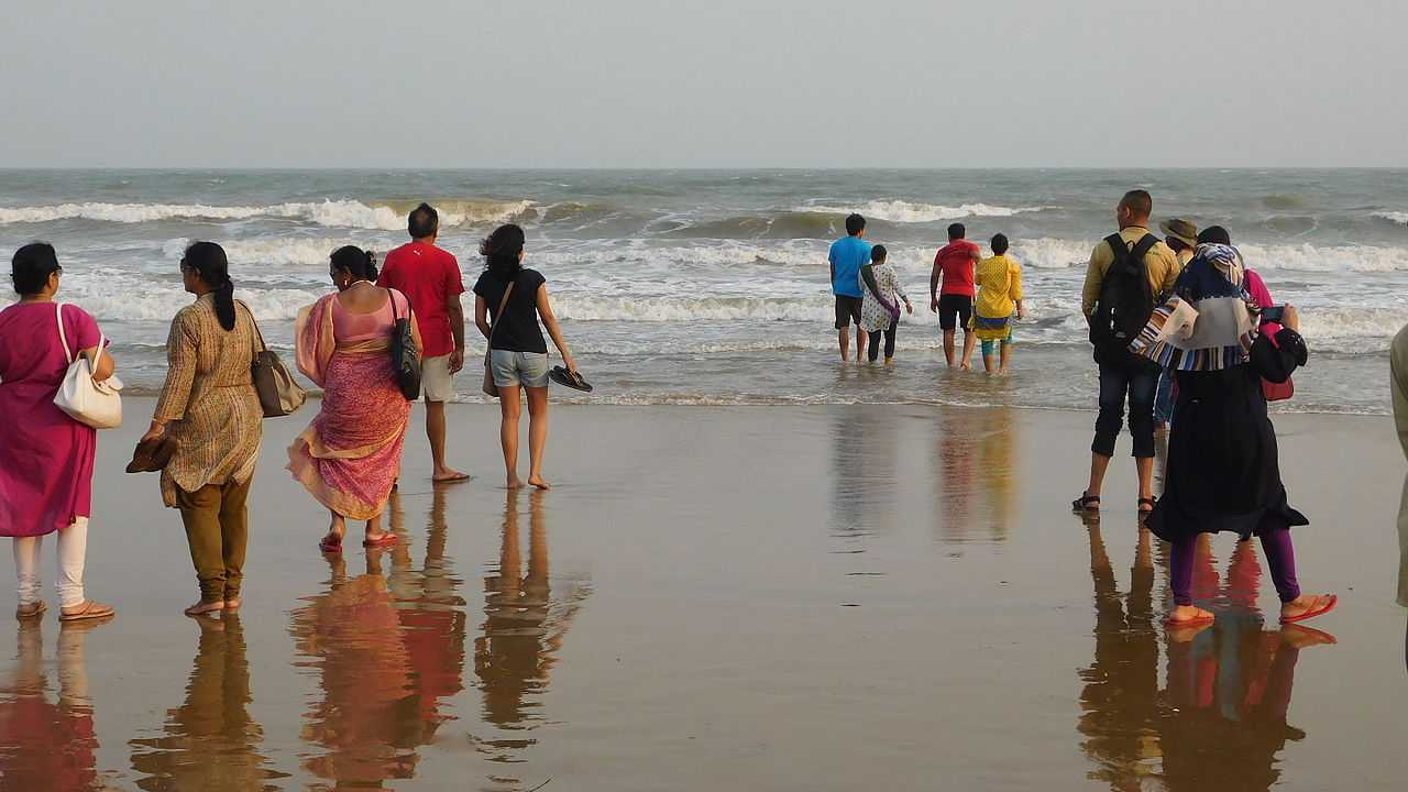 Attraction Beach in West Bengal-New Digha Beach