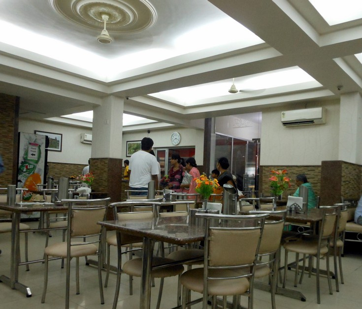 Popular Food Place in Mathura & Vrindavan - New Govinda Restaurant