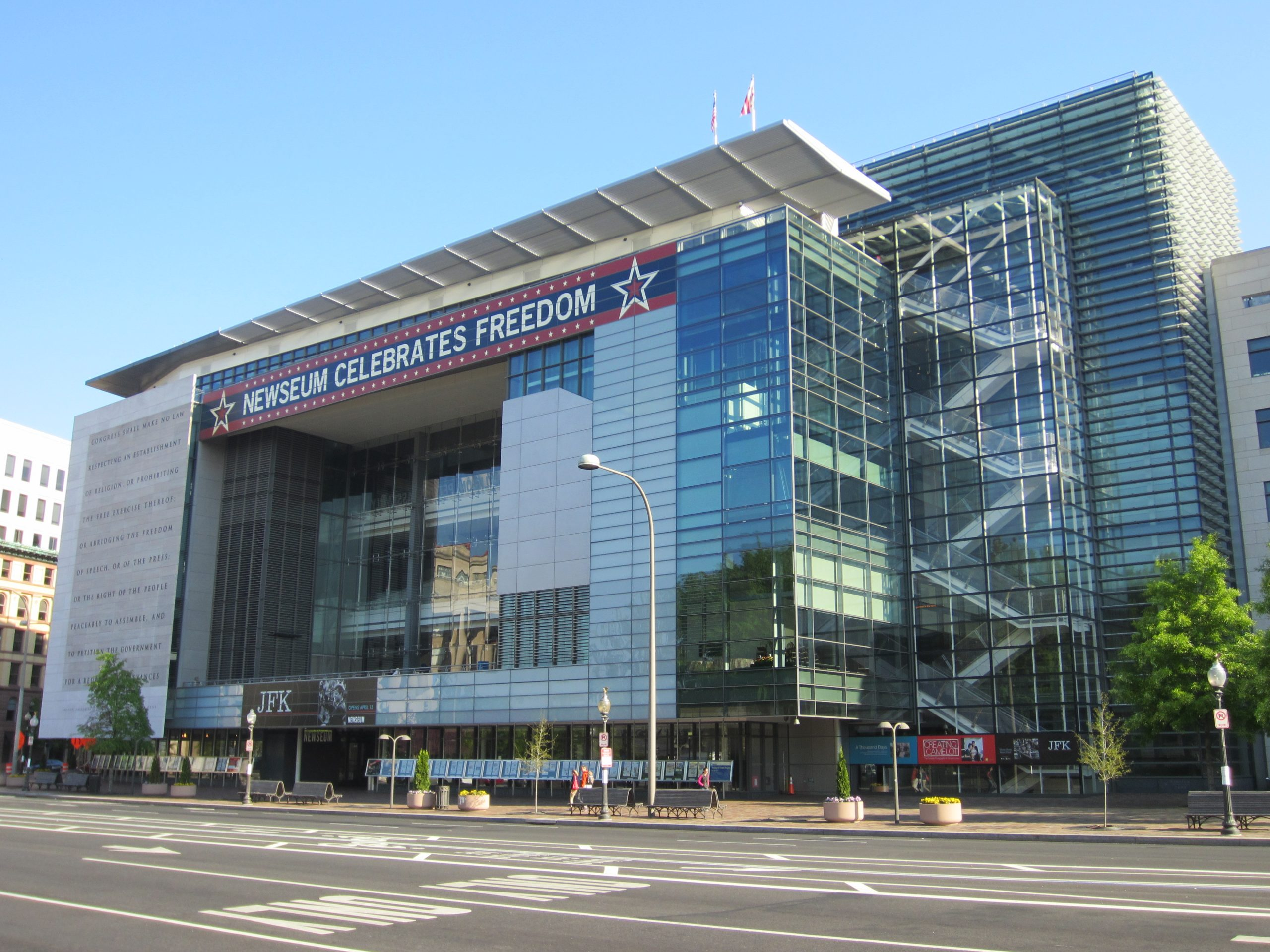 Must Go-To Place in Washington DC-Newseum