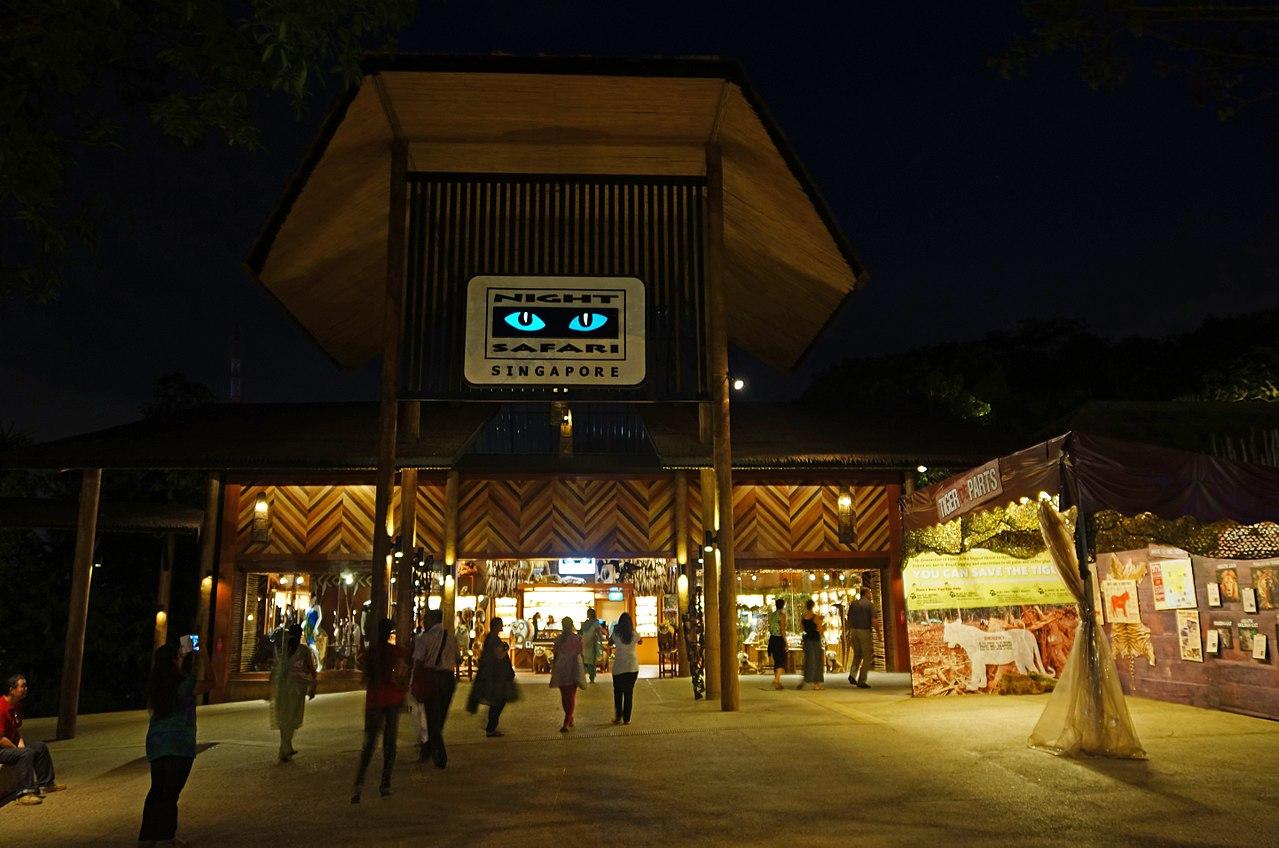 Night Safari Nocturnal Wildlife Park in Singapore