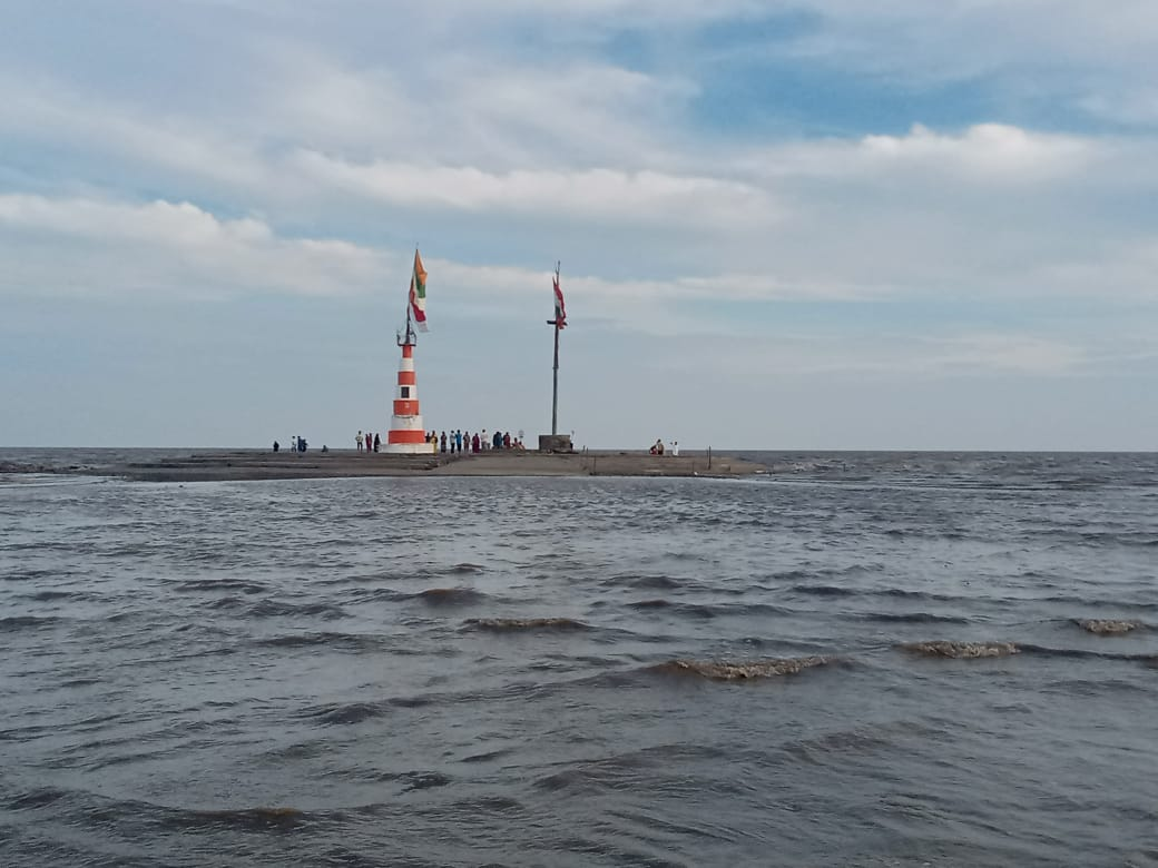 Place to Visit Near Bhavani Beach-Nishkalank Temple