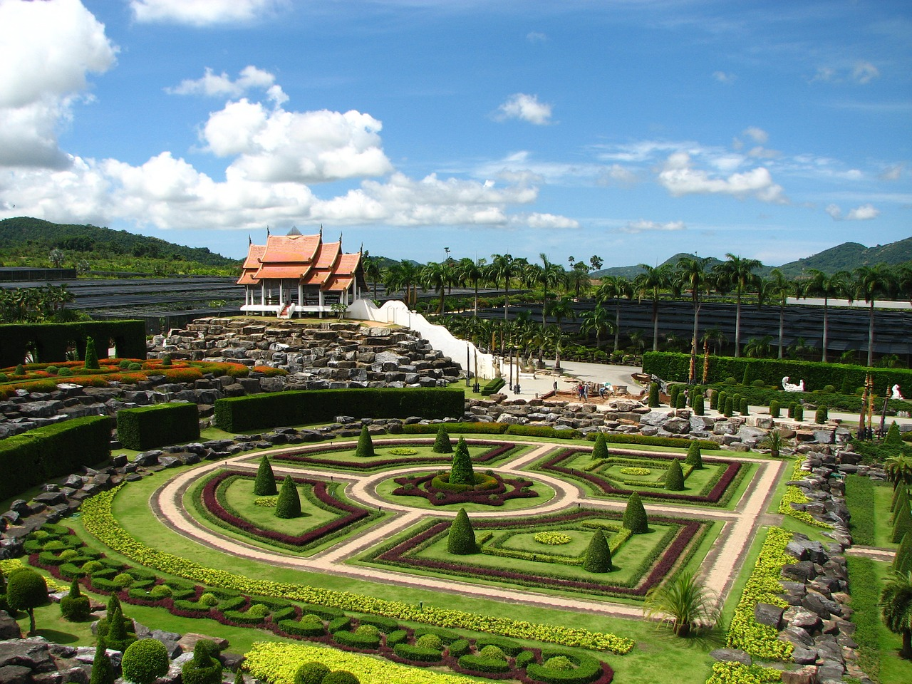 Amazing Place to Visit in Pattaya-Nong Nooch Tropical Botanical Garden