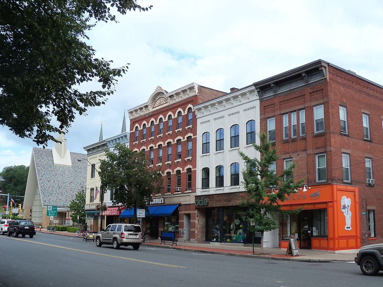 Magnetic Attraction of Massachusetts-Northampton