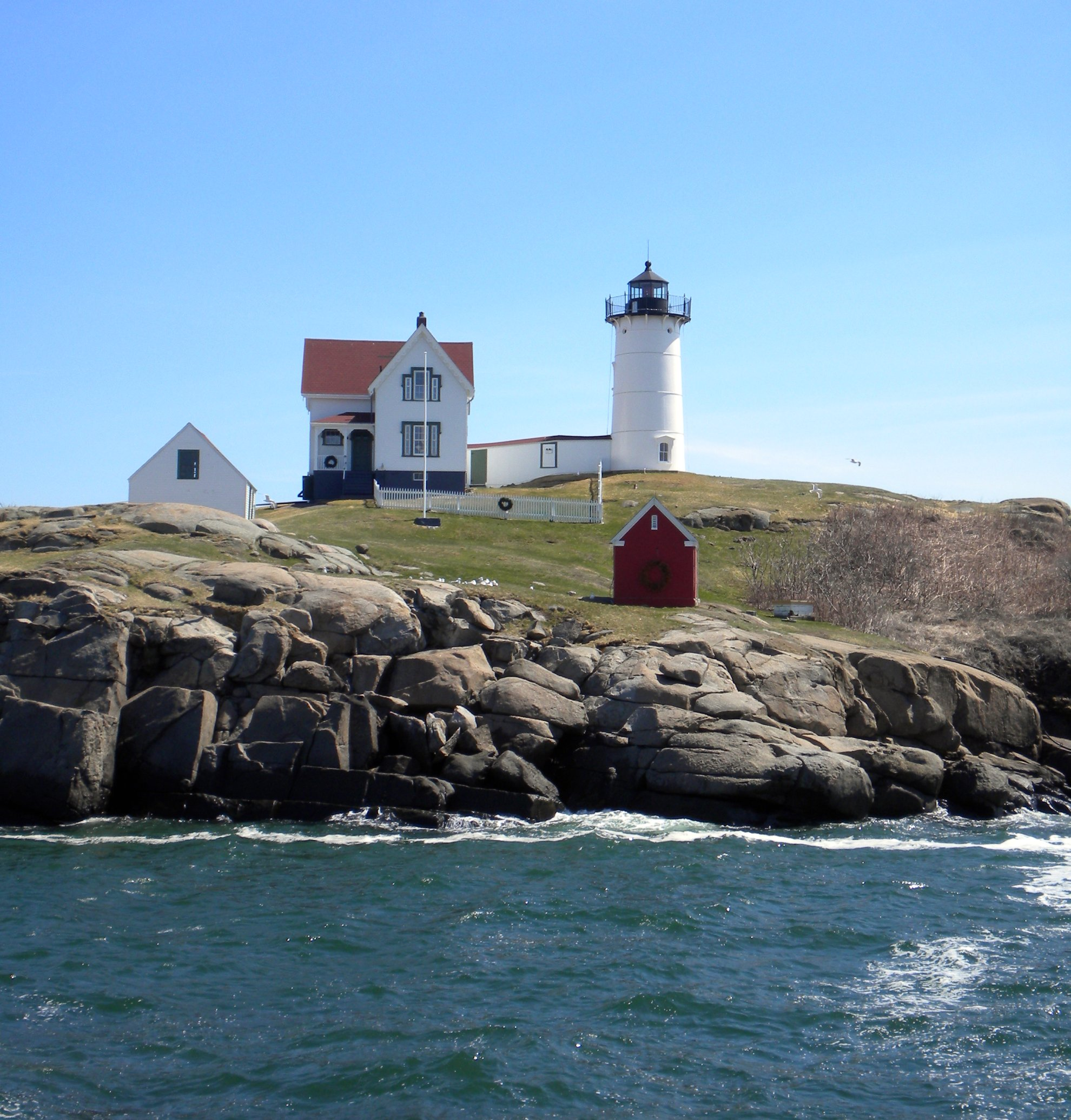 Sightseeing Place to Visit In Maine-Nubble Lighthouse (Cape Neddick Light)