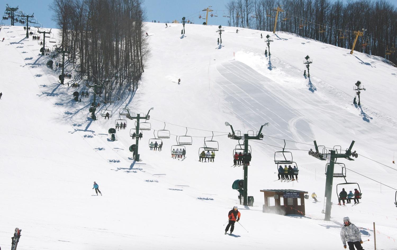 Attraction Ski-Resort in Michigan-Nub's Nob Ski Area