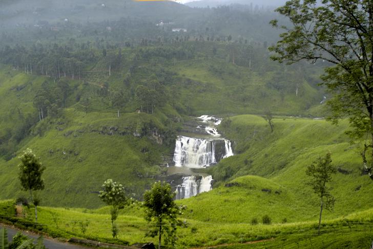 Amazing Weekend Getaways Near Colombo-St. Clair's Falls, Nuwara Eliya