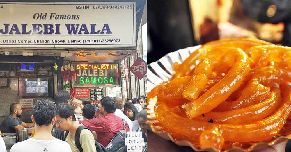 Old Famous Jalebi Wala - Chandni Chowk