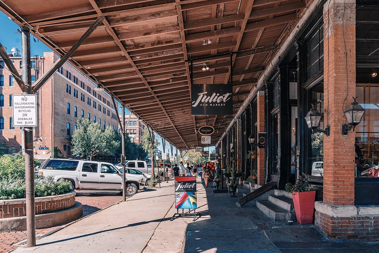 Attraction Tourist Place In Nebraska's-Old Market of Omaha