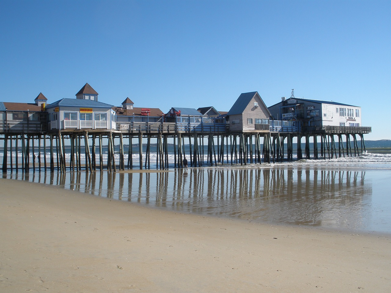Best Visiting Place In Maine-Old Orchard Beach