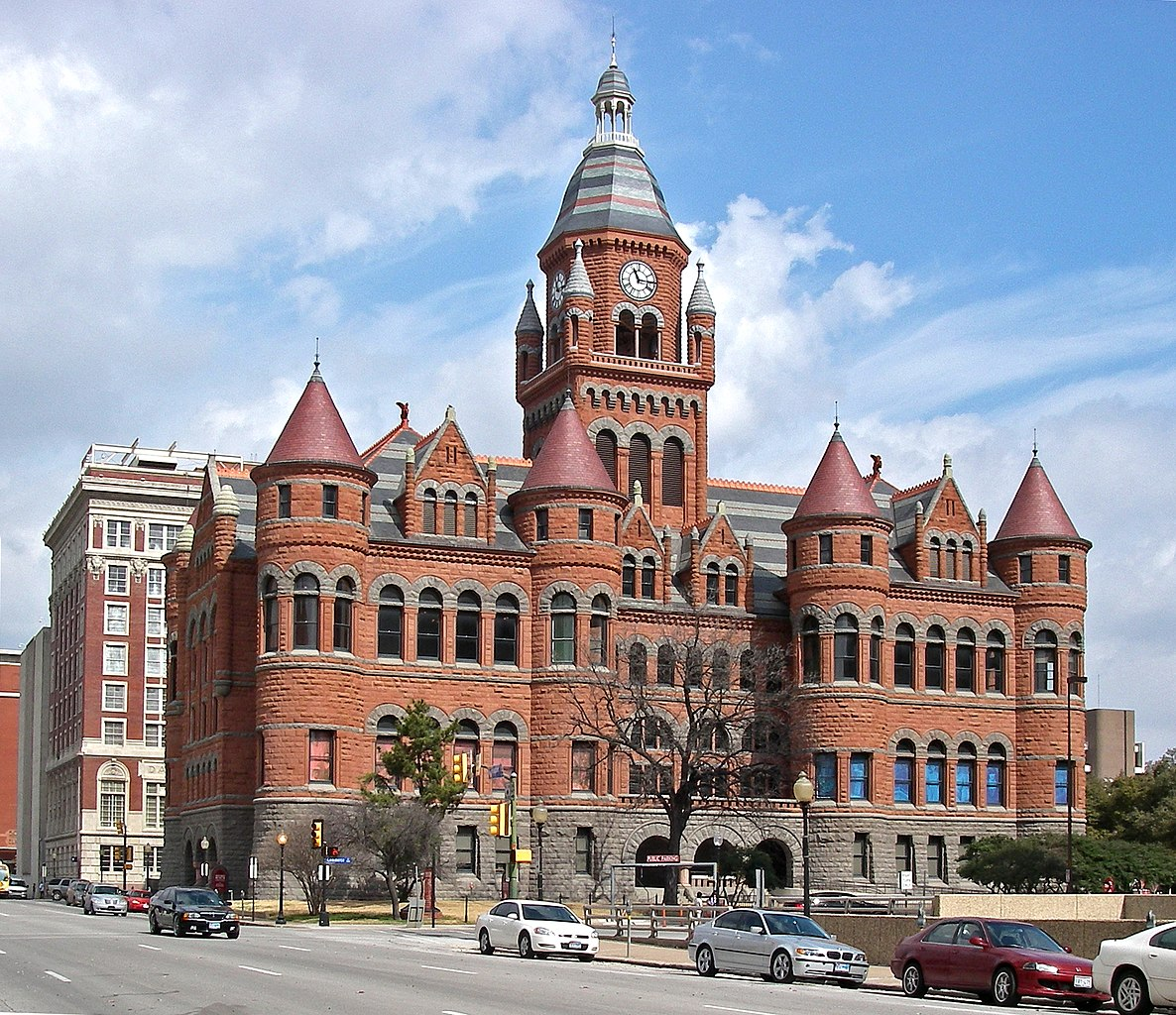 Sightseeing Place to Visit In Dallas City-Old Red Courthouse