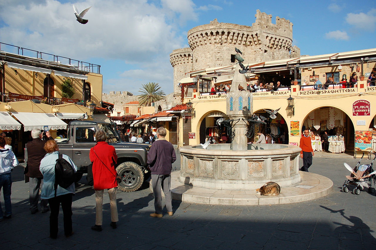 Top Attraction Place In Rhodes-Old Town of Rhodes: UNESCO