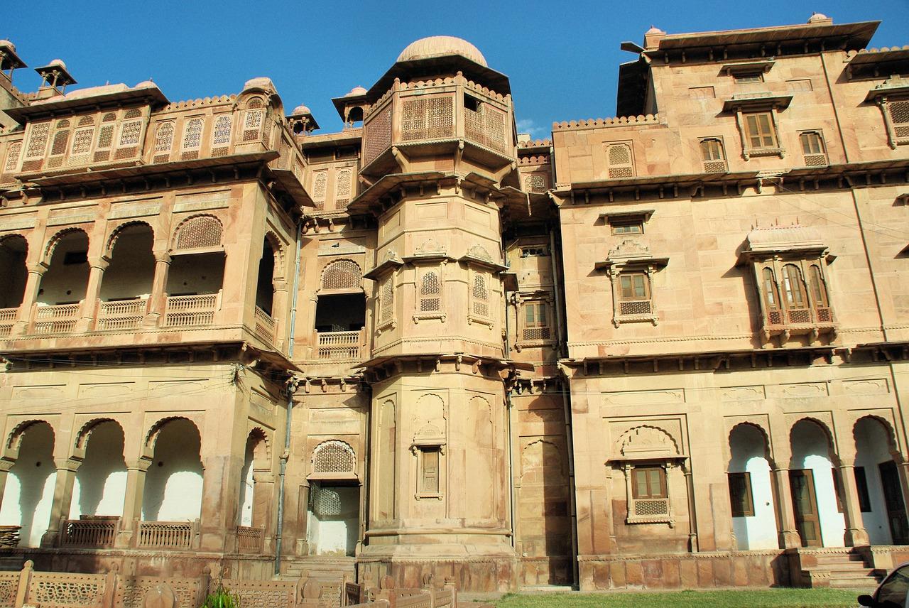 Overview of Mandir Palace, Jaisalmer