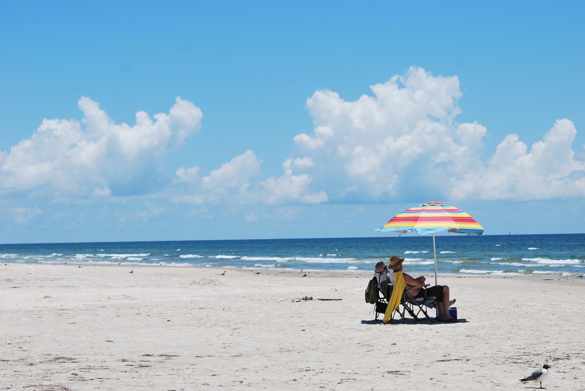 Beautiful Beach in Texas-Padre Island National Seashore, Corpus Christi