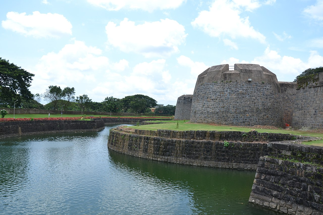 Ancient Fort in Kerala-Palakkad Fort