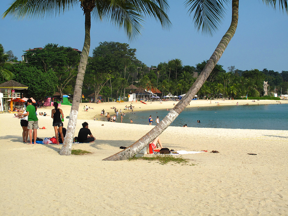 Amazing Beach in Singapore-Palawan Beach
