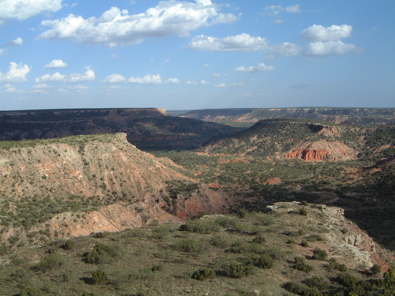 National Parks In Texas-Palo Duro Canyon National Park