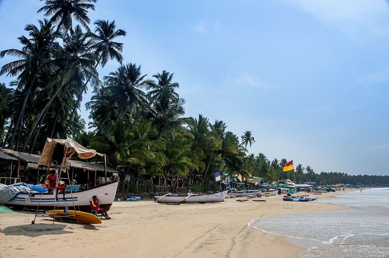 Amazing Beach in Goa For Watching Dolphins-Palolem Beach