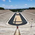 Panathenaic Stadium - A popular sight-seeing place in Athens, Greece.