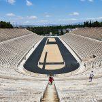 Panathenaic Stadium - A popular sight-seeing place in Athens, Greece.