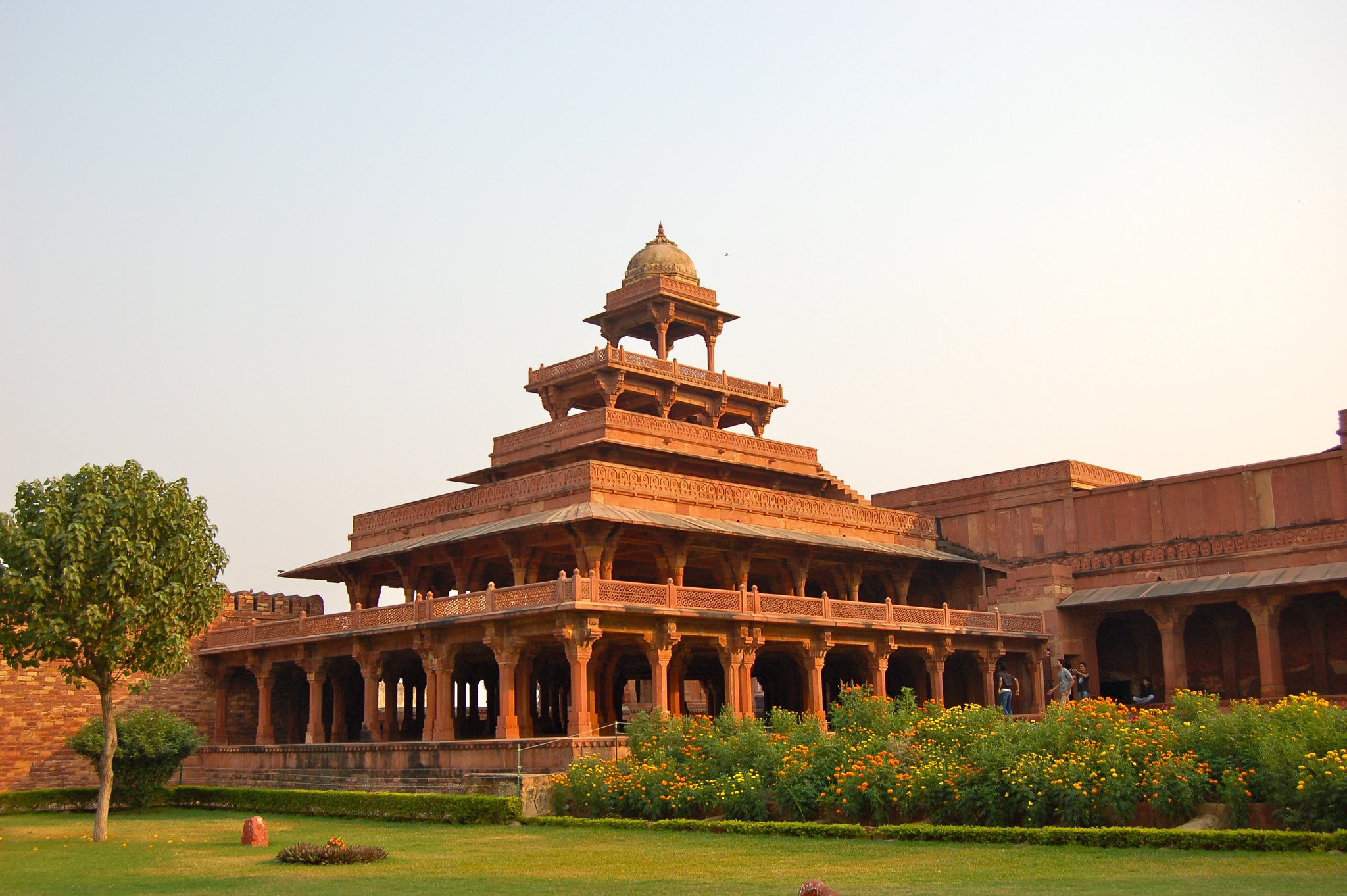 Best Visiting Place in Fatehpur Sikri-Panch Mahal