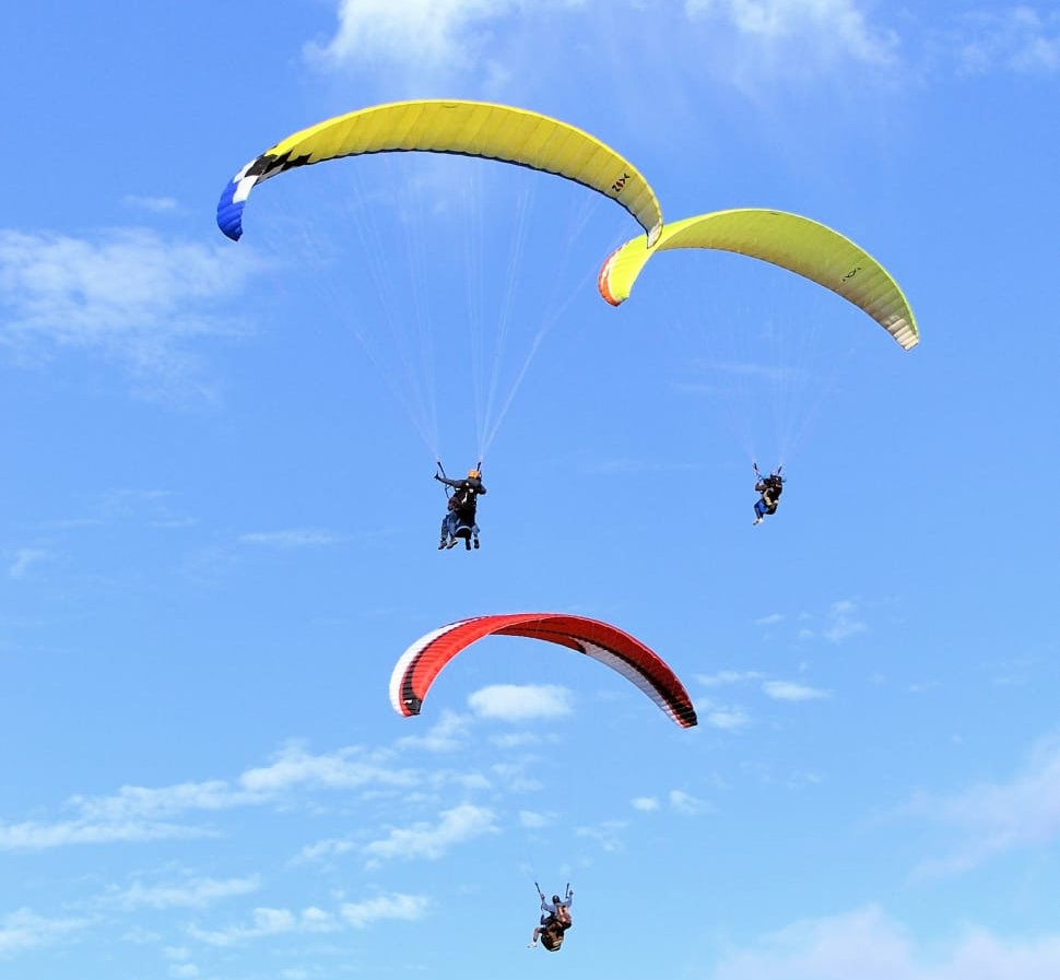 Go for Paragliding at Arambol Beach