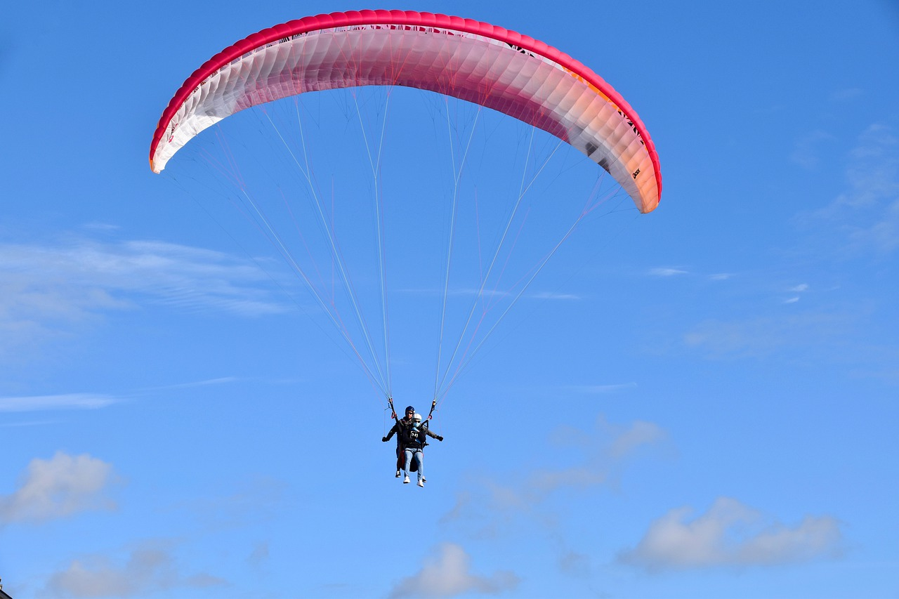Things You Can Do At The Kailasagari Hills-Indulge in Paragliding