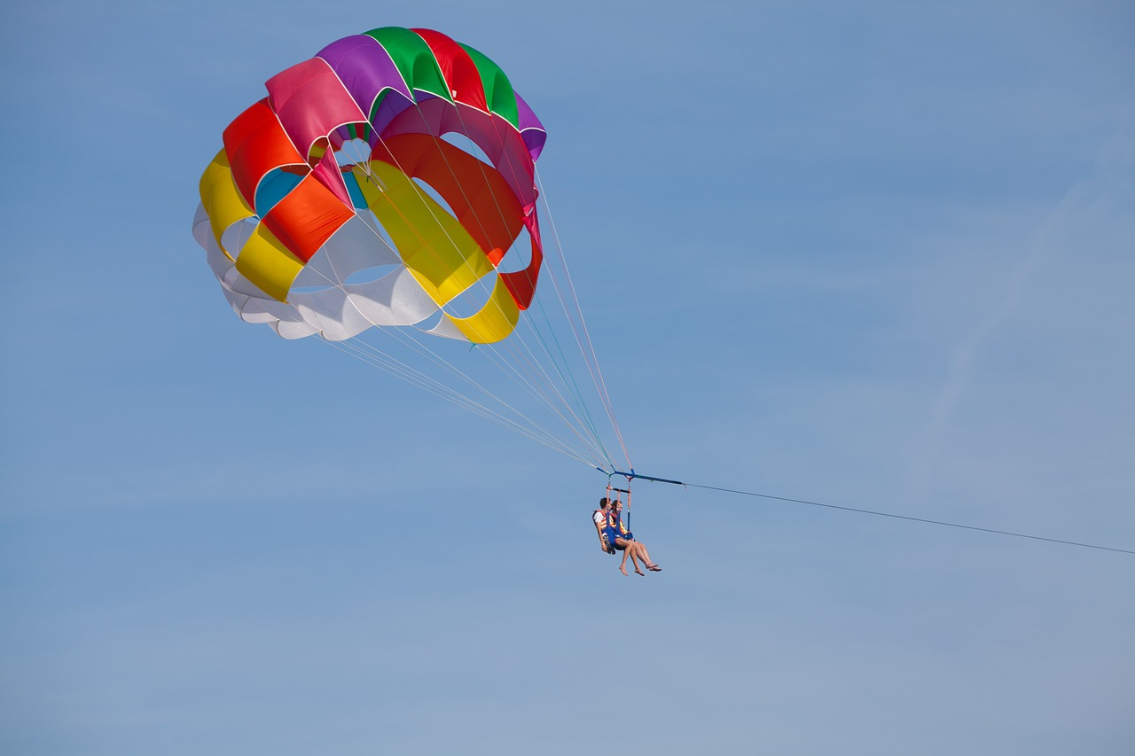 Parasailing - Thrilling and Adventurous Water Sports in Kerala