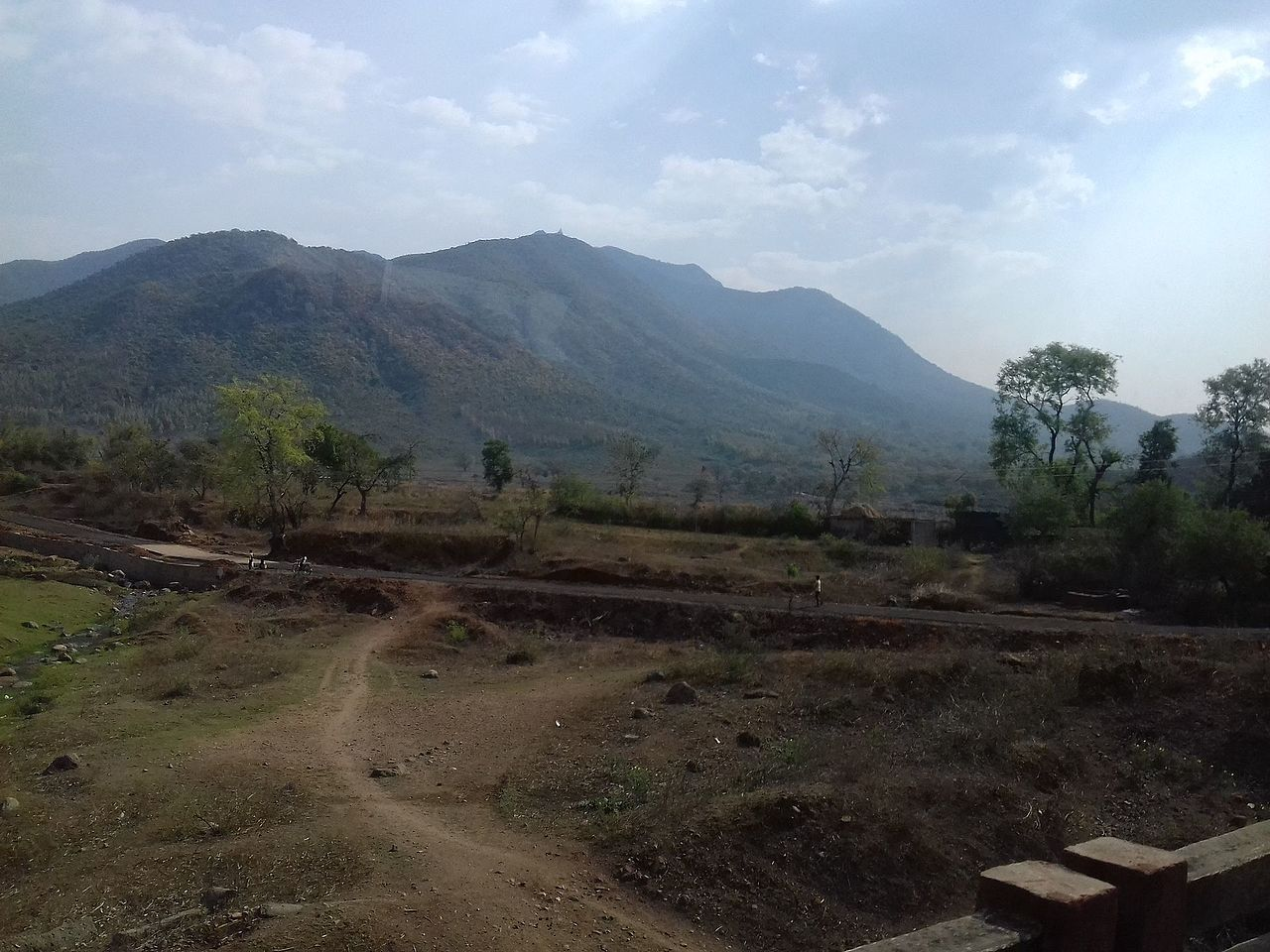 The Route to Parasnath Hill, Jharkhand