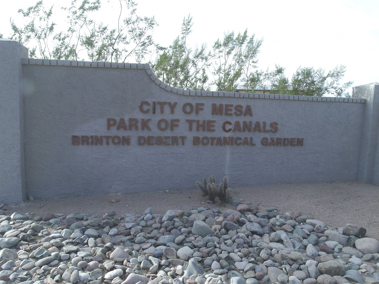 Beautiful Place To Visit In Mesa-Park of the Canals