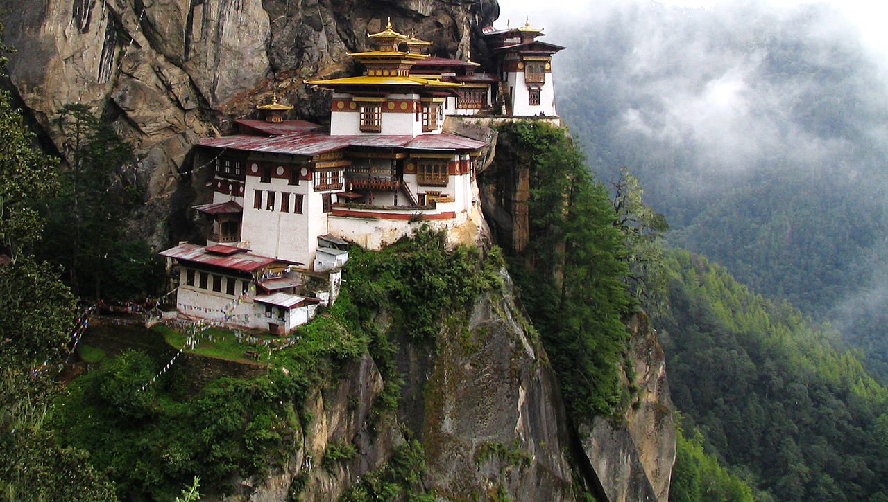 Amazing Weekend Getaways From Siliguri-Paro, Taktsang Monastery