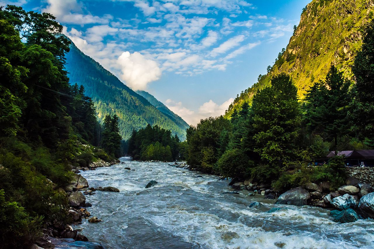 Parvati River - Place To Visit In Kasol