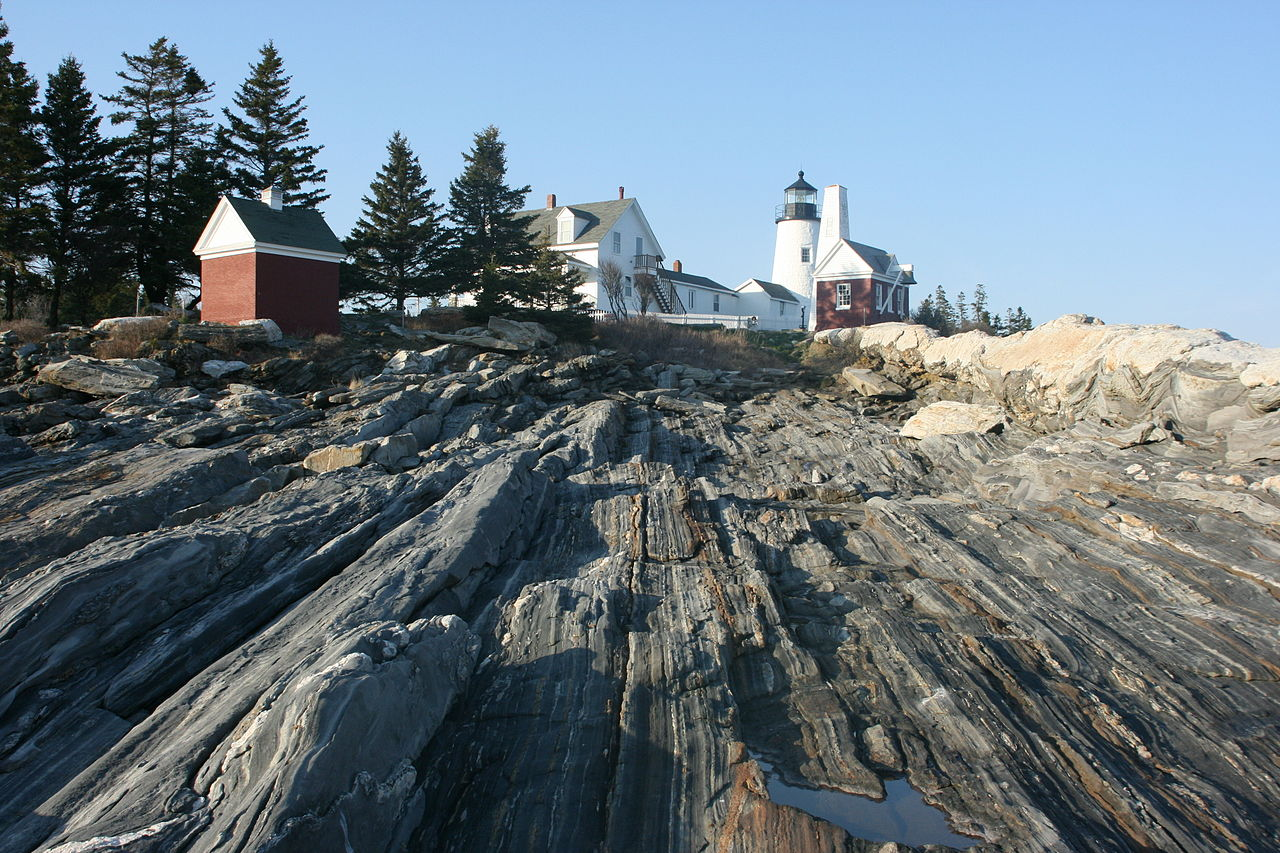 Top Tourist Place In Maine-Pemaquid Point Light