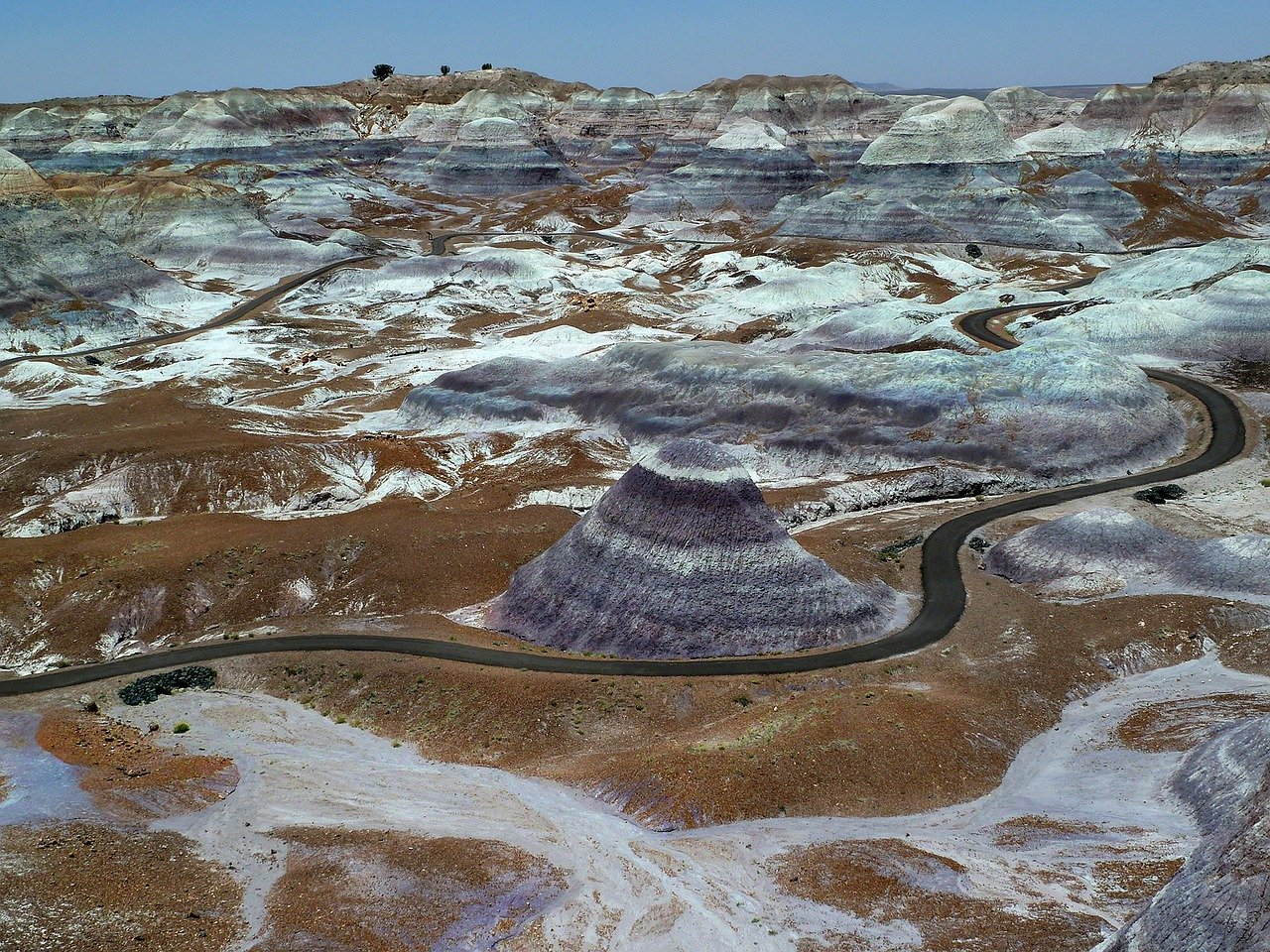 Petrified Forest National Park - Top Rated National Park in Arizona