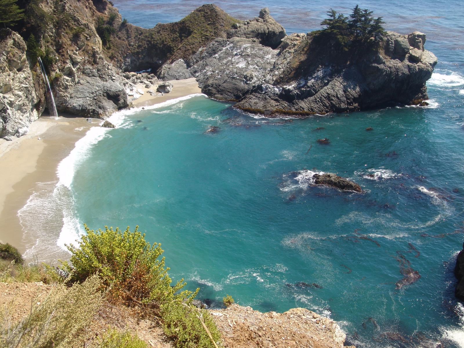 Pfeiffer Beach in California