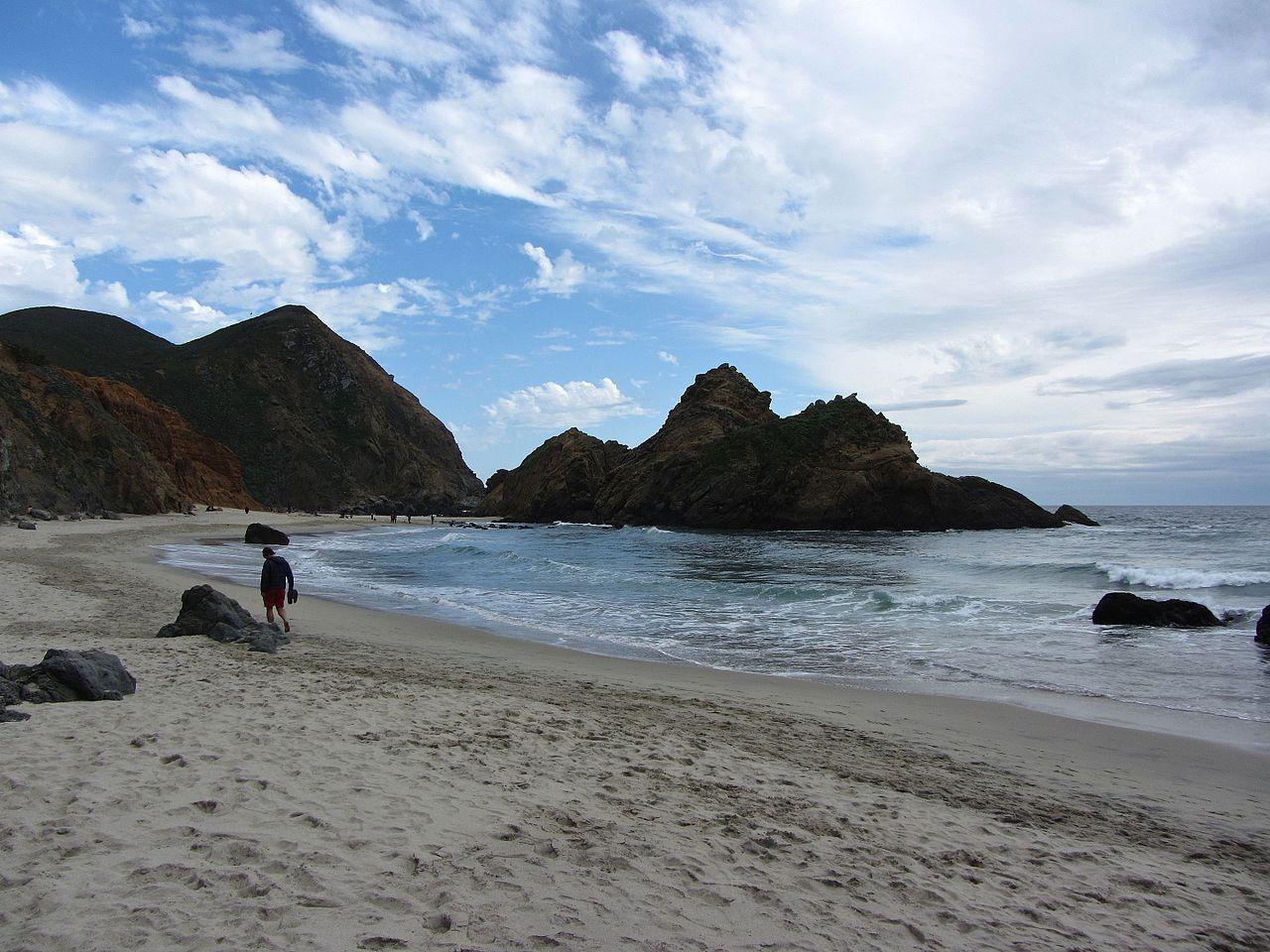 Best Beach in California-Pfeiffer Beach