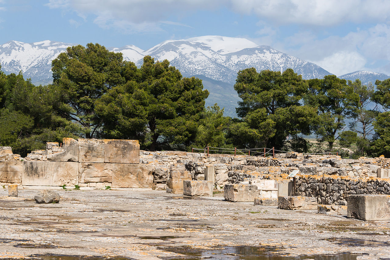 Best Place in Crete Islands-Phaistos Palace and Archaeological Site in Crete Island