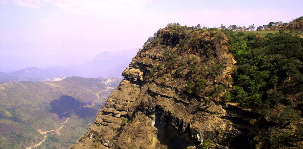 Phawngpui is The Famous Tourist Places in Mizoram