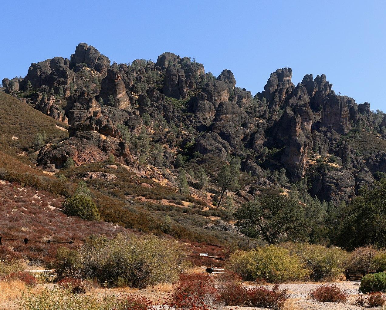 Top-rated National Park in California-Pinnacles National Park
